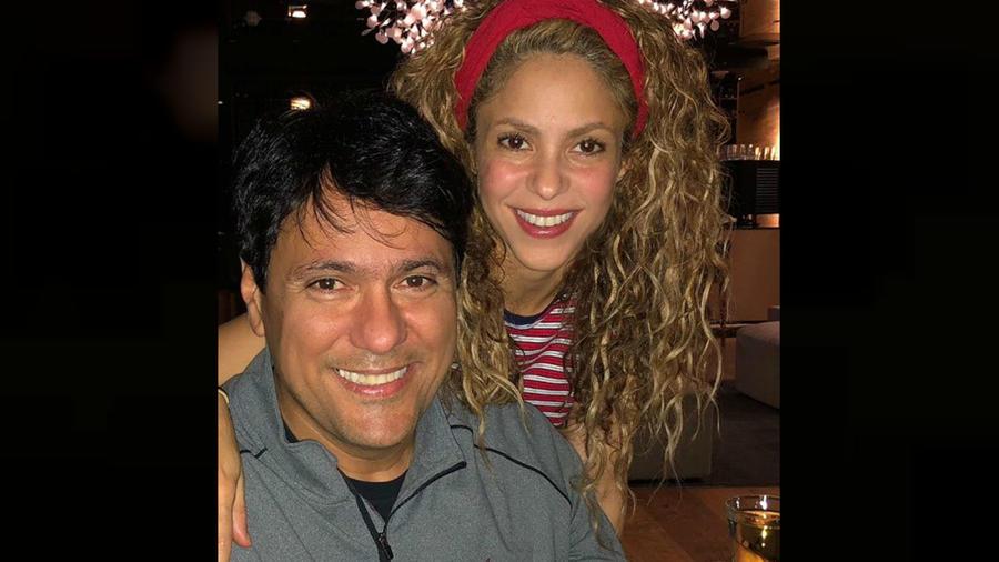 Shakira con su hermano
