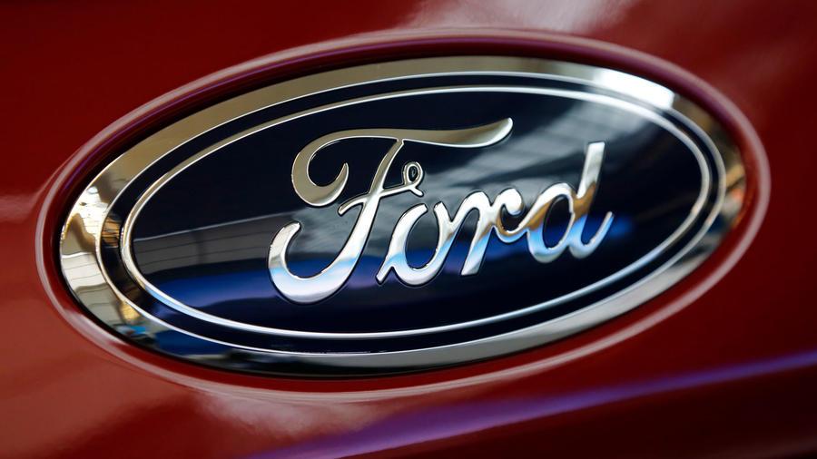 Marca de coches Ford en una imagen de archivo