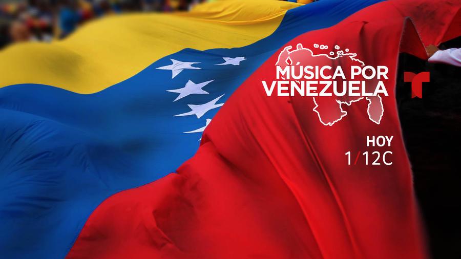 """Hoy """"Música por Venezuela""""."""
