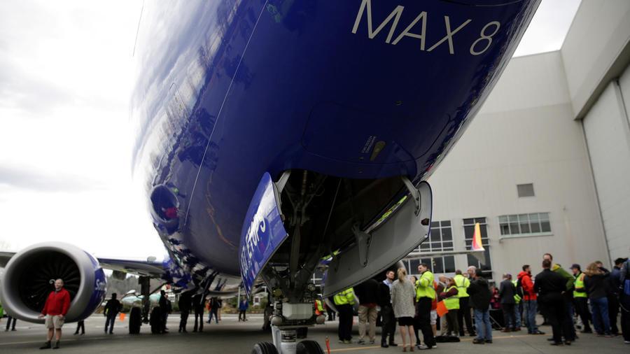 Un avión 737 Max 8 en una imagen de archivo