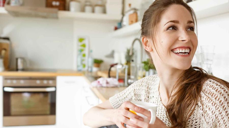 Café en la cocina