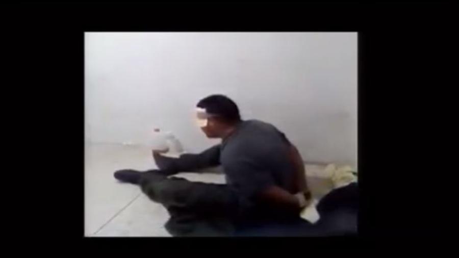 Captura del vídeo grabado por el teniente Ronald Dugarte y difundido ante la OEA.