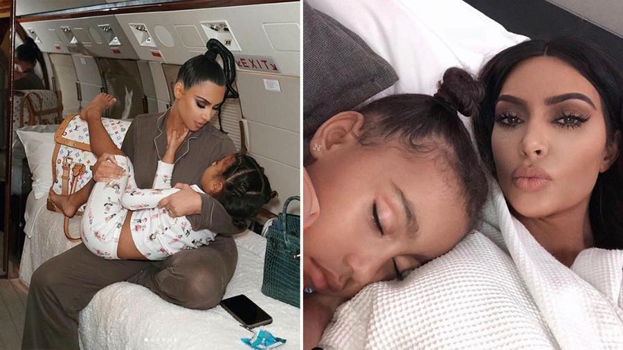 Kim no logra que su hija North la obedezca