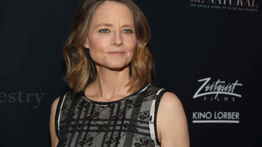 "Jodie Foster en la premiere de ""Be Natural: The Untold Story of Alice Guy-Blache"""