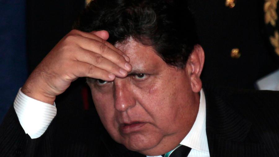 El expresidente de Perú Alan García en una imagen de archivo