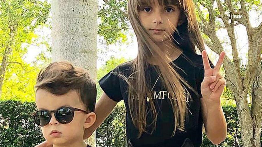 Rocco y Mikaela Fonsi