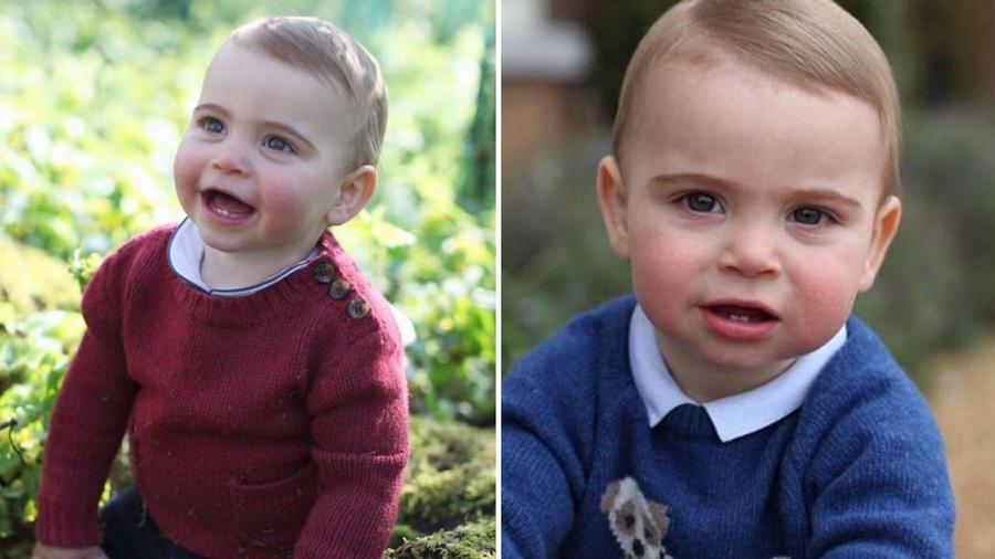 Príncipe Louis en sus fotos oficiales de cumpleaños