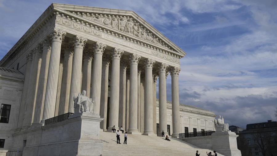 Fotografía de archivo de la Corte Suprema de Justicia en Washington, D.C.