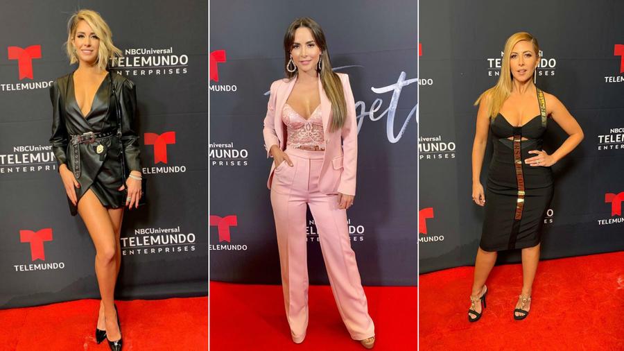 Carmen Aub, Carmen Villalobos y Stephanie Himonidis