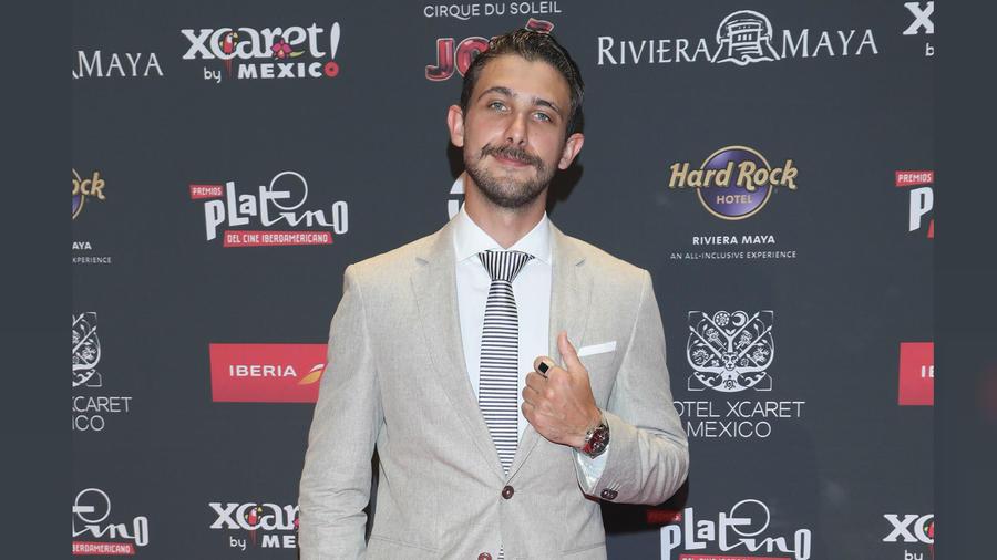 Emiliano Zurita en Premios Platino 2019