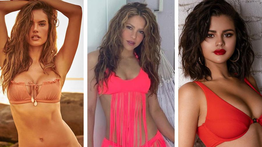 Selena Gomez, Shakira y Alessandra Ambrosio
