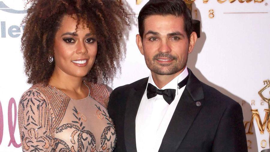 Ferdinando Valencia y Brenda Kellerman a 36 entrega de los Premios TVyNovelas 2018
