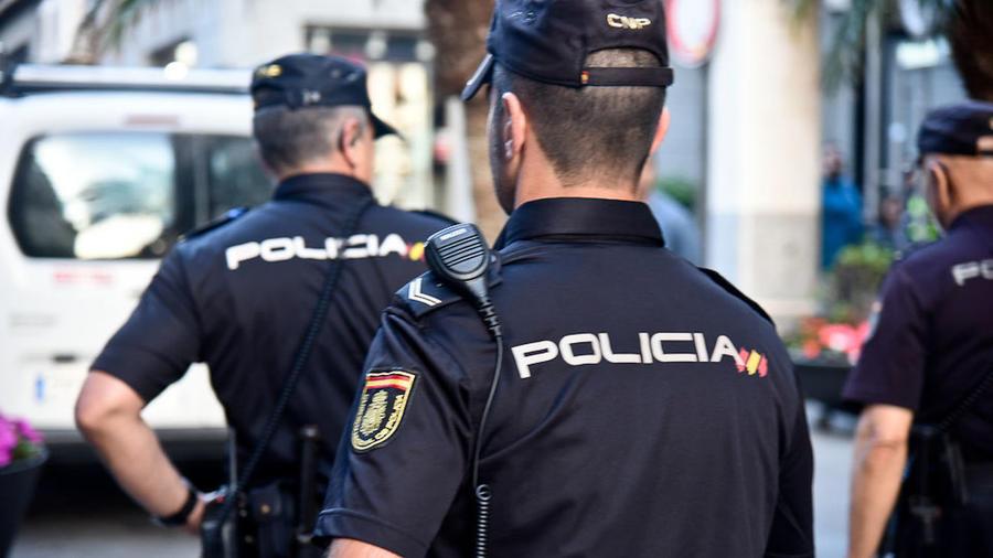 Una foto de archivo de la policía española.