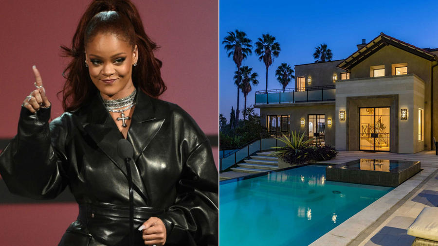 Rihanna y su casa de Hollywood Hills
