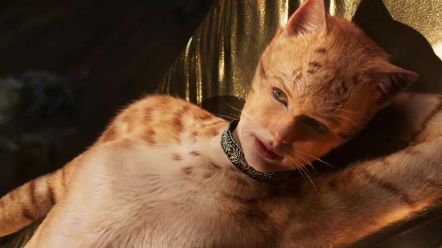 Taylor Swift caracterizada como Bombalurina para Cats