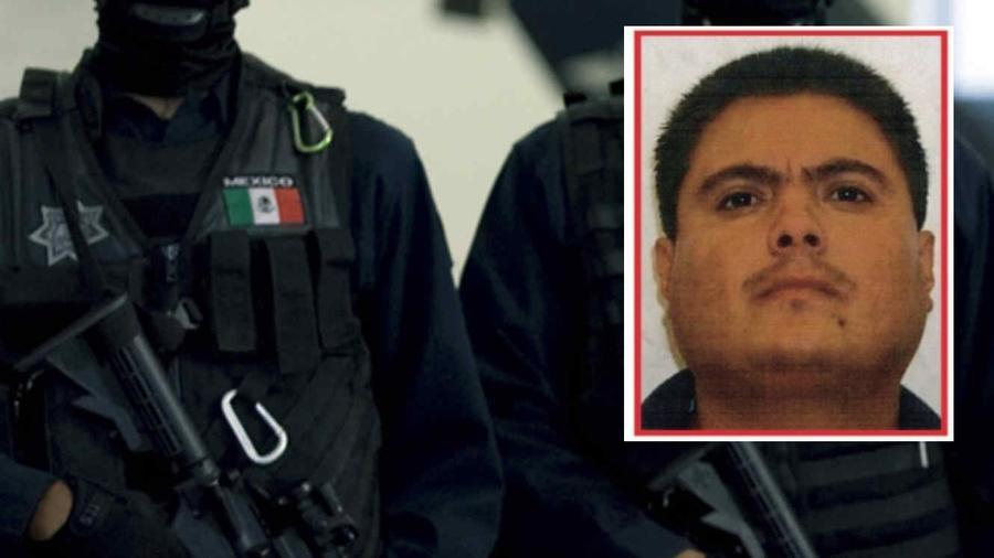 Una imagen de Santiago Mazari, apodado 'El Carrete', difundida por las autoridades mexicanas.