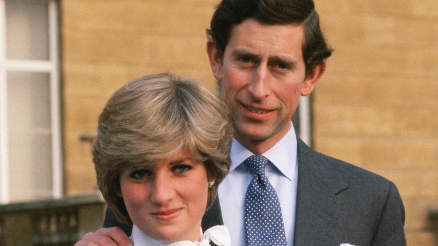 Princesa Diana y Príncipe Charles