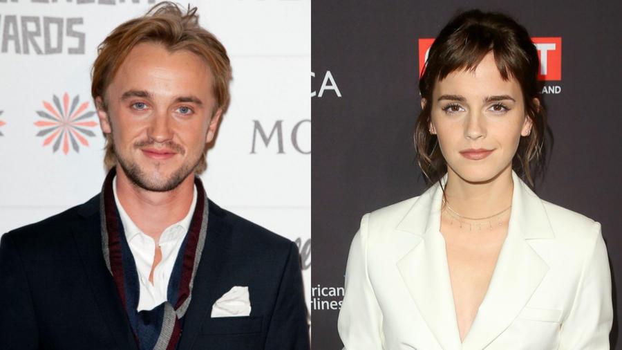 Tom Felton en los British Independent Film Awards junto a Emma Watson en la fiesta de los premios Bafta 2019