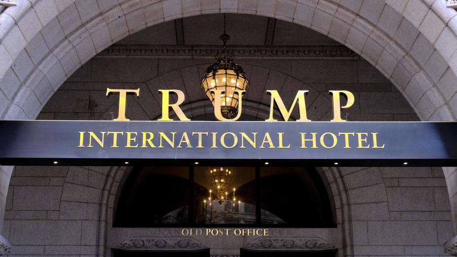 Fotografía de archivo del Trump International Hotel en el centro de Washington, D.C.