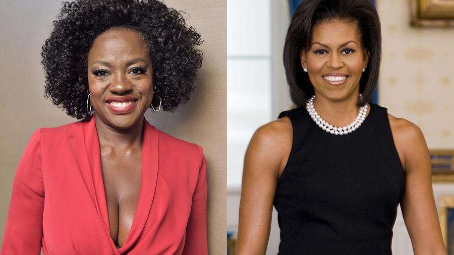 Viola Davis y Michelle Obama