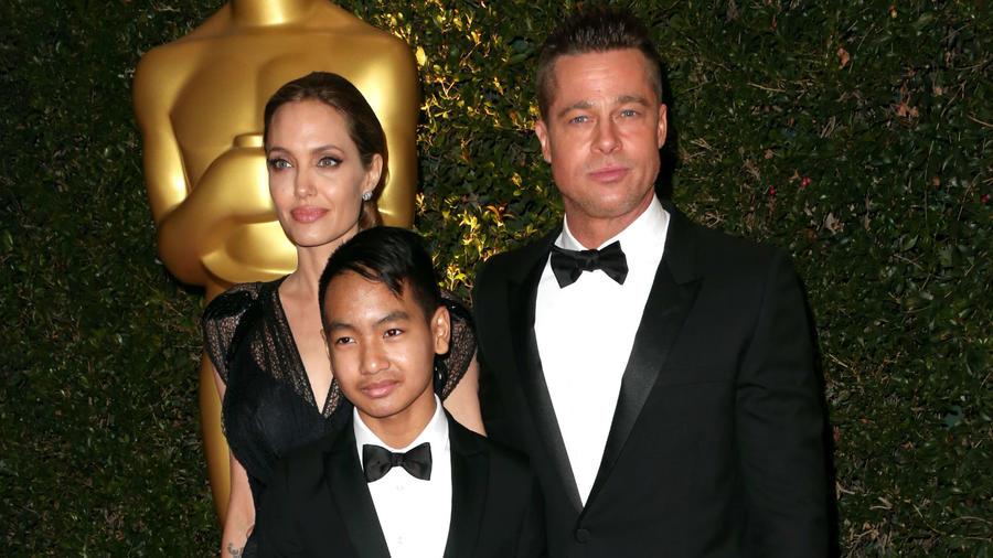 Bradd Pitt y Angelina Jolie