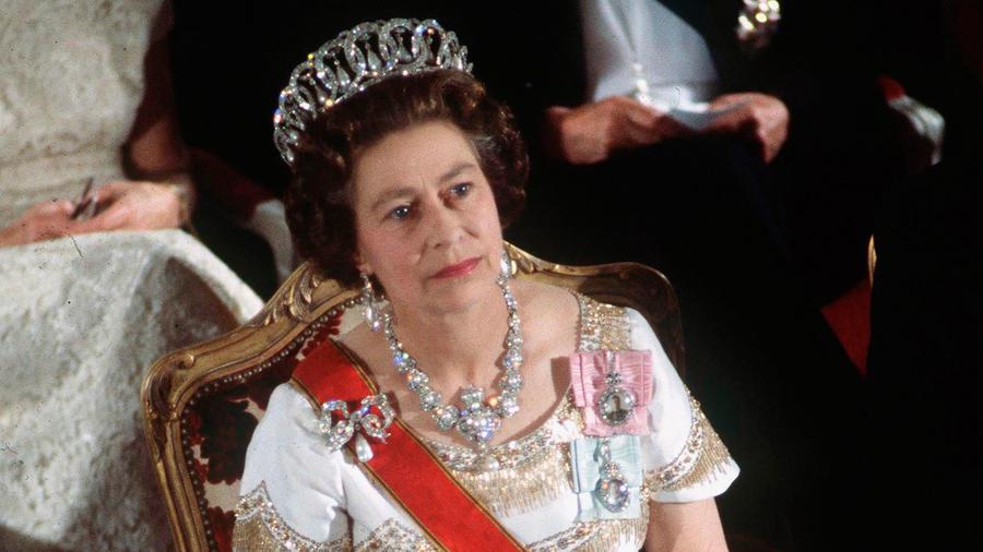 La reina Elizabeth II en Alemania