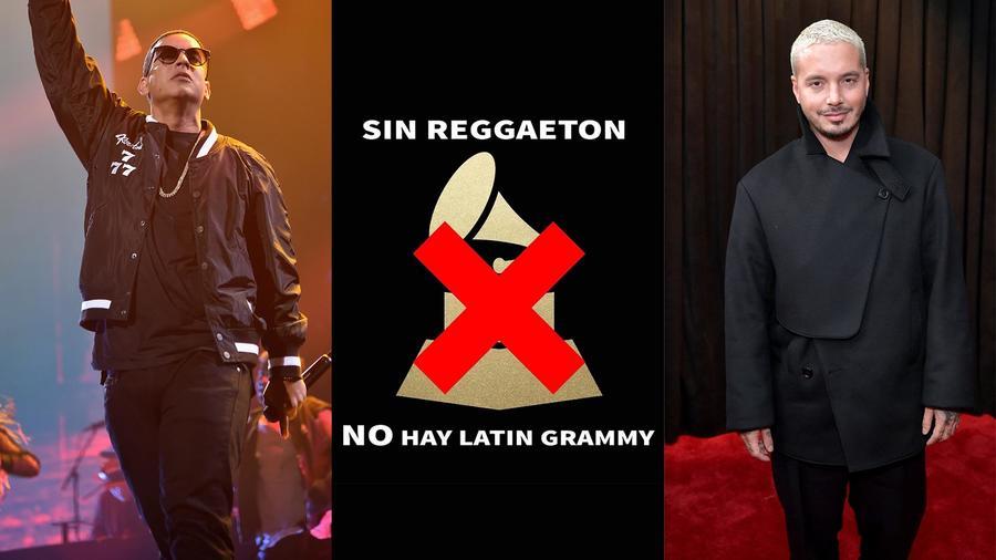 Daddy Yankee y J Balvin en contra de los Latin Grammys