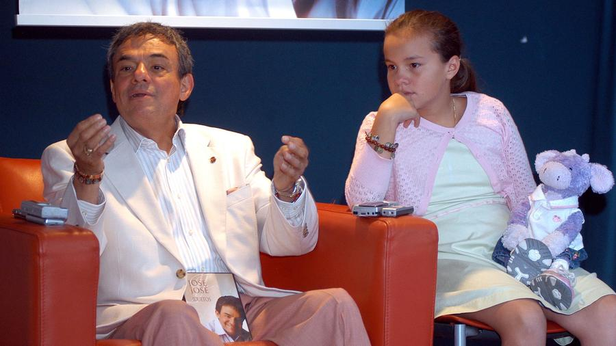 José José y su hija Sarita