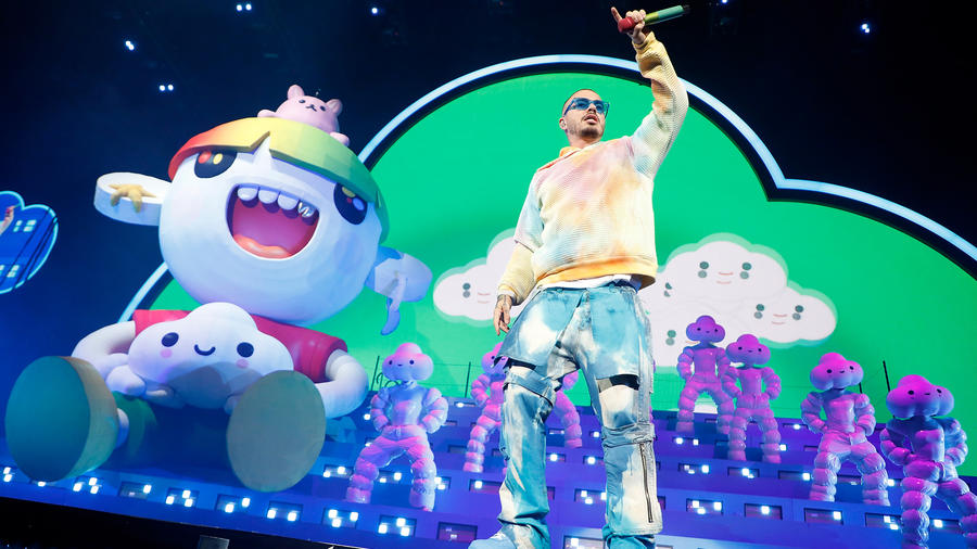 J Balvin Fulfills One of His Biggest Dreams With a Sold out Madison Square Garden