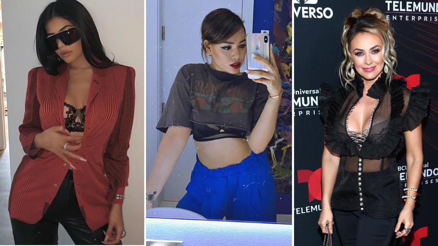 Danna Paola, Kylie Jenner y Aracely Arámbula