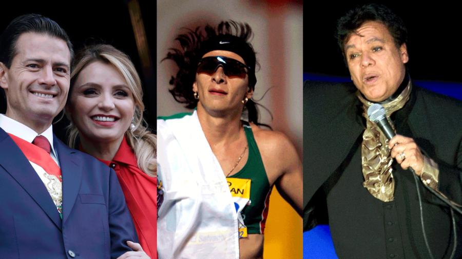 Angélica Rivera, Anana Gabriela Guevara y Juan Gabriel son algunos de los famosos a quienes se les perdonaron los impuestos.