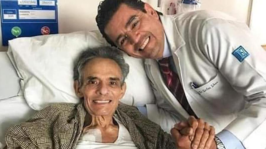 José José en el hospital