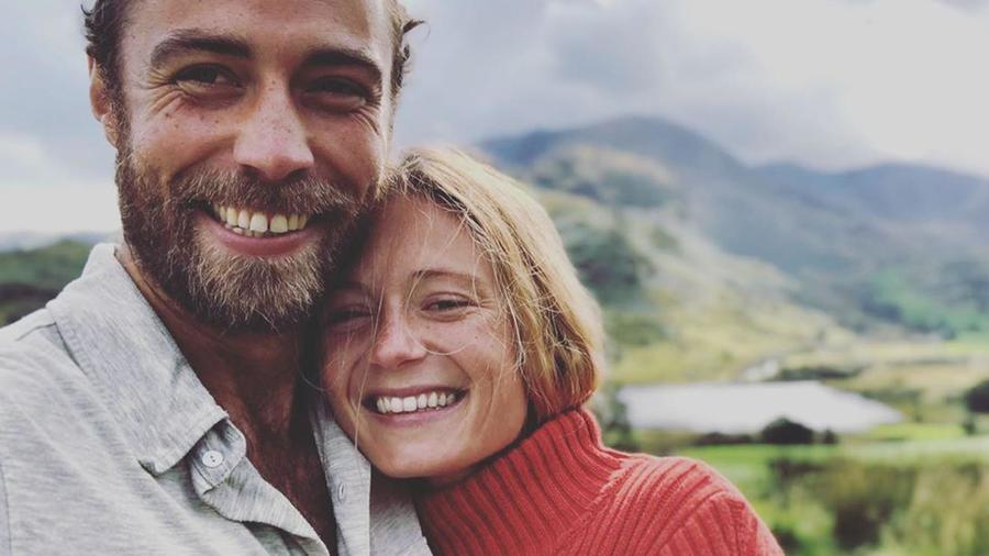 James Middleton y Alizee Thevenet comprometidos