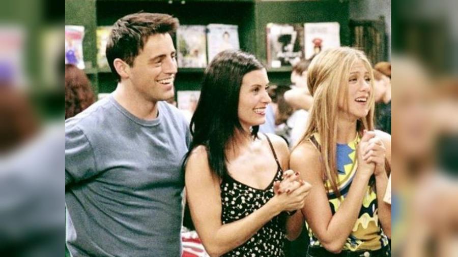 """Joey, Monica y Rachel en """"Friends"""""""