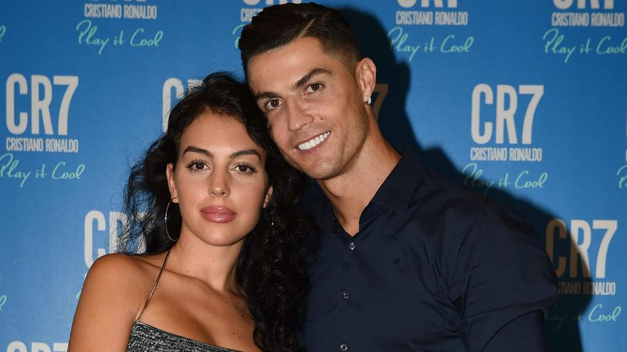 Georgina Rodríguez con Crisitano Ronaldo