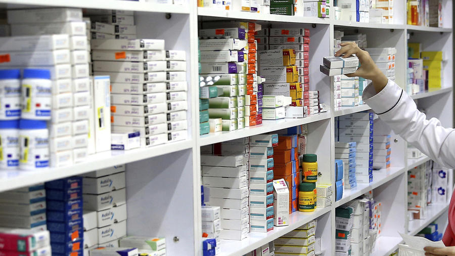 Imagen de archivo de medicinas.