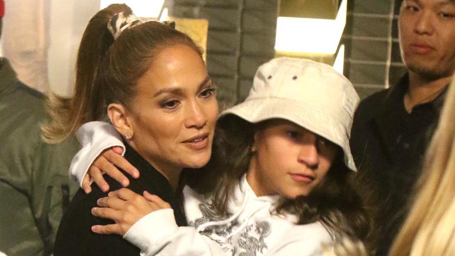 Jennifer Lopez con Emme Anthony