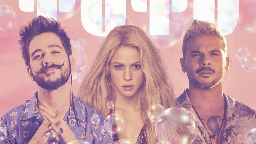 Shakira, Camilo y Pedro Capó