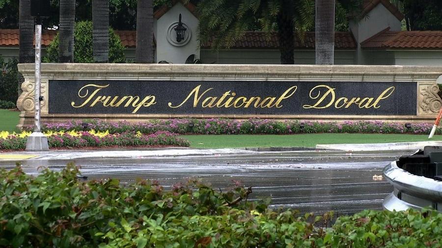 Imagen de archivo del resort Trump National Doral, propiedad del presidente, Donald Trump.