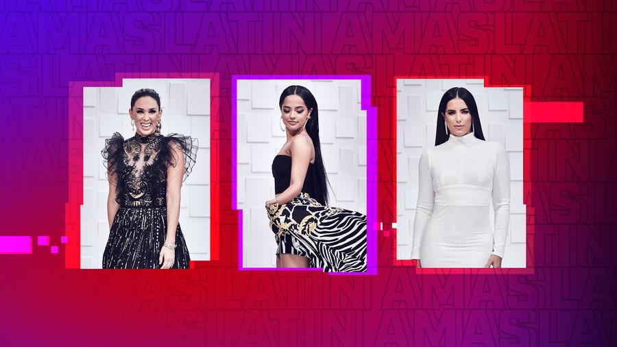 Jacky Bracamontes, Becky G, Gaby Espino- Latin AMAs 2019