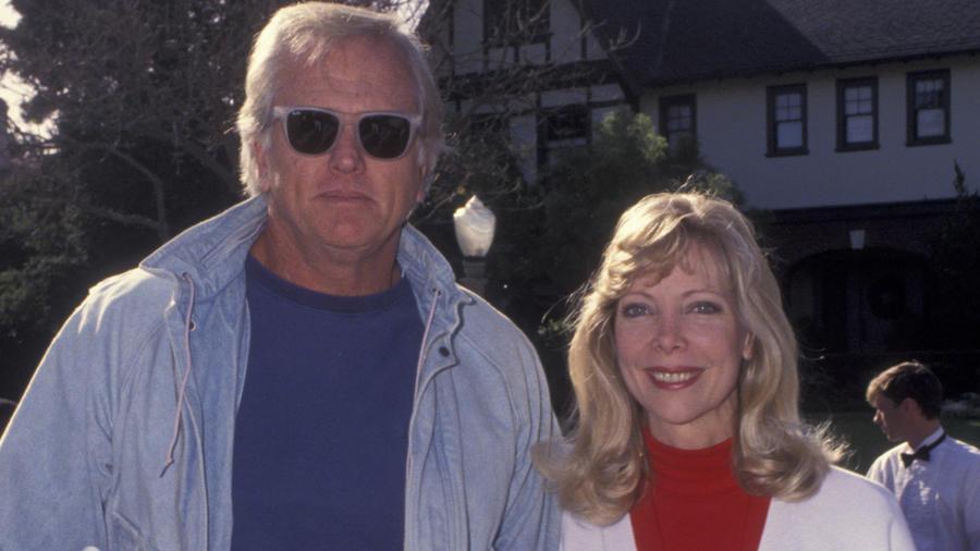 Ron Ely y su esposa en 1992