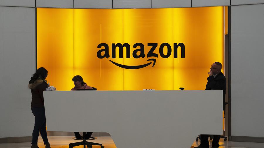 Imagen de archivo de una oficina de Amazon.
