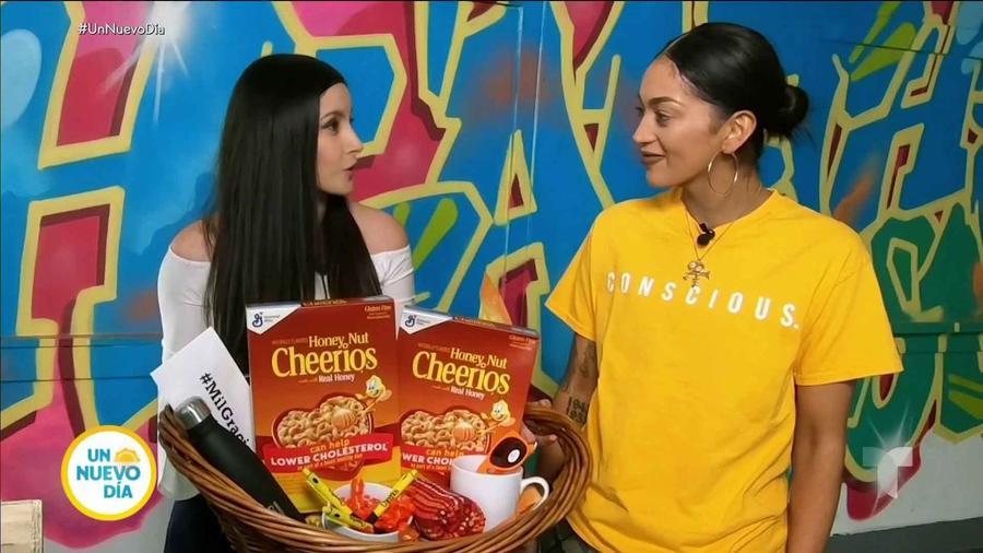 Tanya Lozano, premiada por Un Nuevo Día y Honey Nut Cheerios™