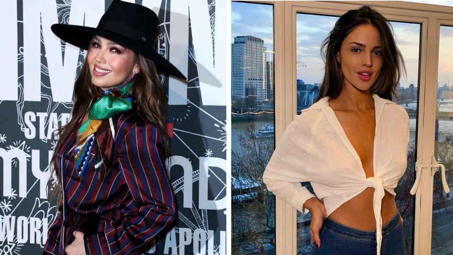 Thalía y Eiza González
