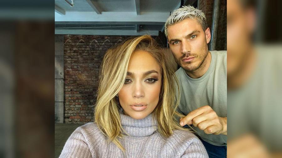 Jennifer Lopez con Chris Appleton