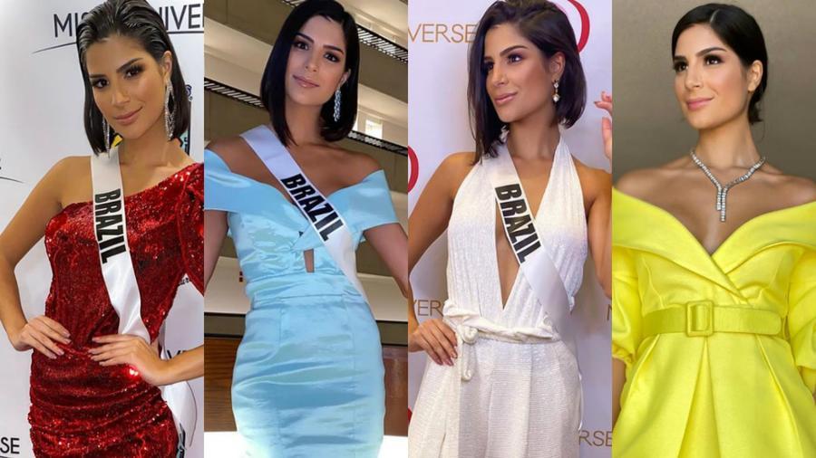 Júlia Horta, Miss Brasil 2019, Muestra su gran estilo, Miss Universo 2019