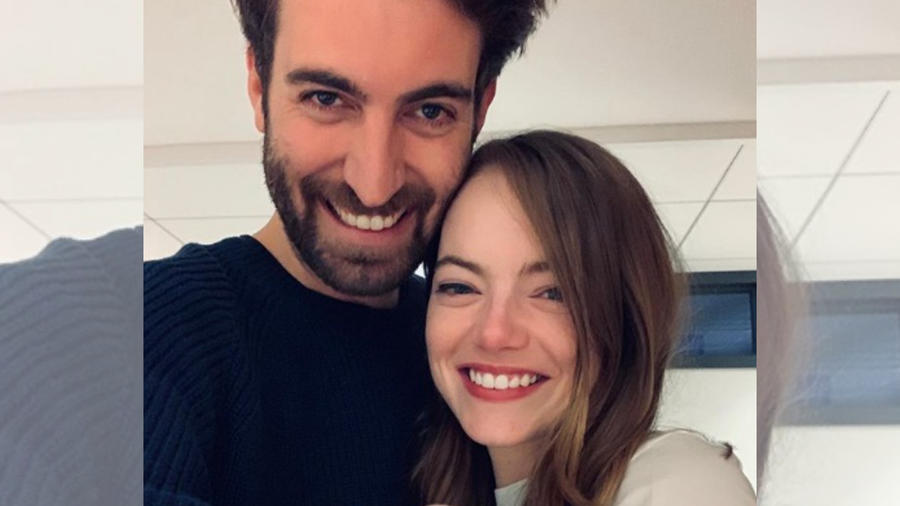 Emma Stone y Dave McCary