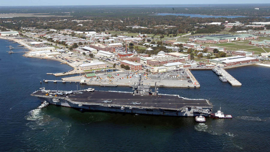 Base Naval del Ejército de Estados Unidos en Pensacola, Florida
