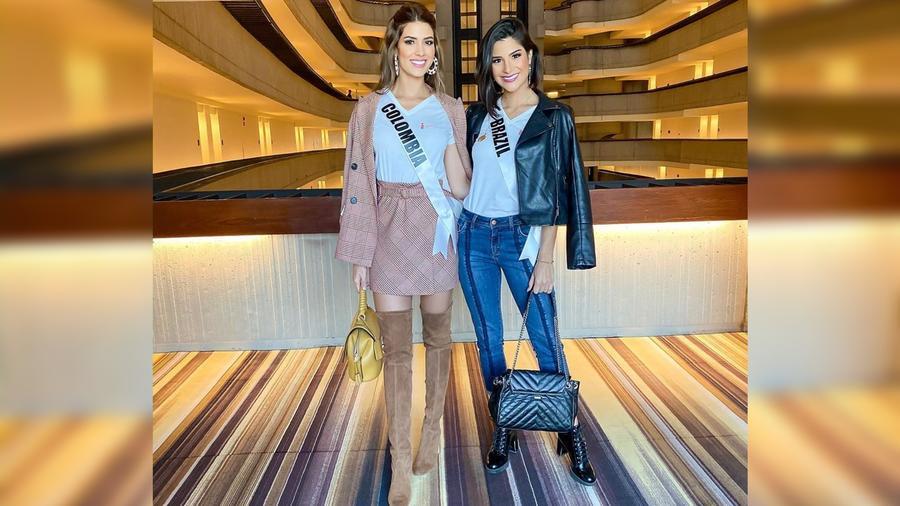 Gabriela Tafur, Miss Colombia 2019, Júlia Horta, Miss Brasil, Miss Universo 2019