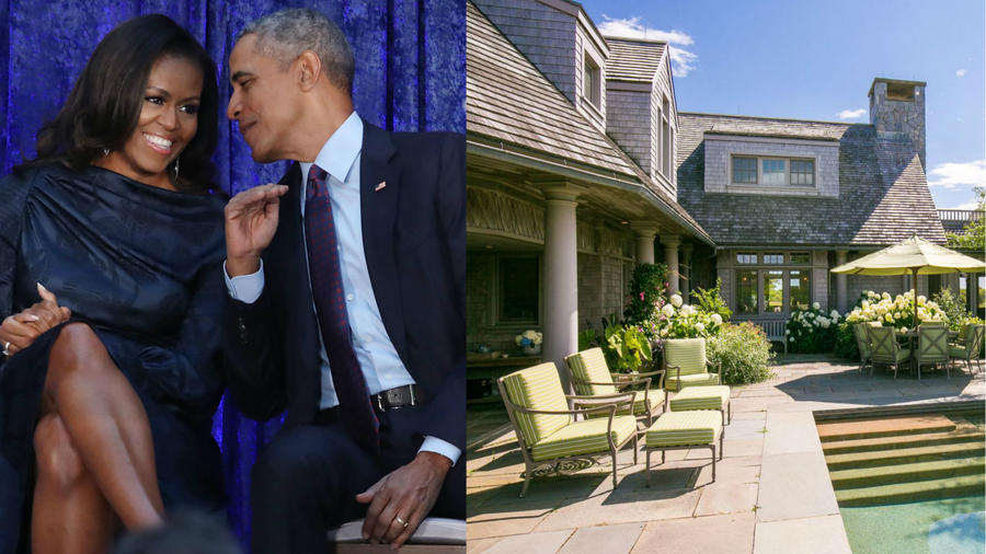 Michelle y Barack Obama compran casa en Vineyard